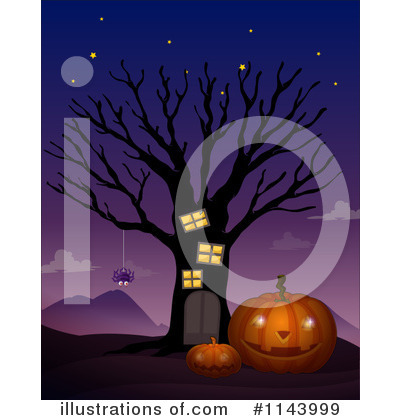 Jackolantern Clipart #1143999 by Graphics RF