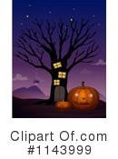 Royalty-Free (RF) Halloween Clipart Illustration #1143999