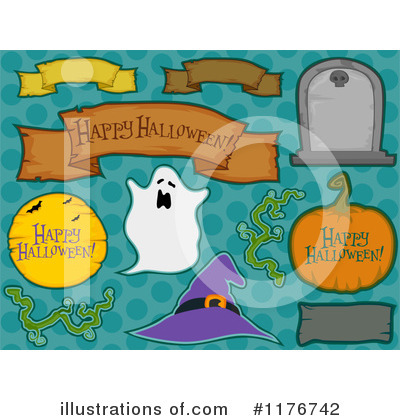 Happy Halloween Clipart #1176742 by BNP Design Studio