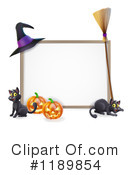 Royalty-Free (RF) Halloween Clipart Illustration #1189854