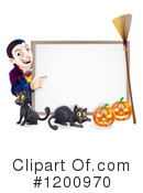 Halloween Clipart #1200970 by AtStockIllustration