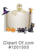 Halloween Clipart #1201303 by AtStockIllustration
