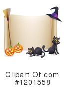 Halloween Clipart #1201558 by AtStockIllustration
