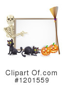 Halloween Clipart #1201559 by AtStockIllustration