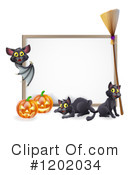 Halloween Clipart #1202034 by AtStockIllustration