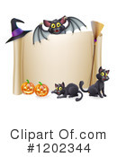 Halloween Clipart #1202344 by AtStockIllustration