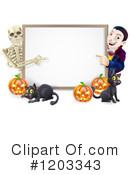 Halloween Clipart #1203343 by AtStockIllustration