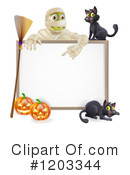 Halloween Clipart #1203344 by AtStockIllustration