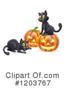 Royalty-Free (RF) Halloween Clipart Illustration #1203767