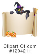Halloween Clipart #1204211 by AtStockIllustration