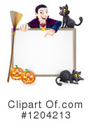 Halloween Clipart #1204213 by AtStockIllustration