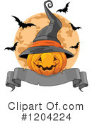 Halloween Clipart #1204224 by Pushkin