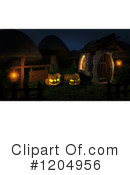 Halloween Clipart #1204956 by KJ Pargeter
