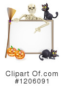 Halloween Clipart #1206091 by AtStockIllustration