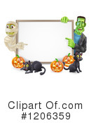 Halloween Clipart #1206359 by AtStockIllustration