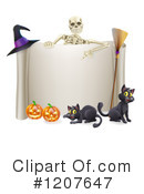 Halloween Clipart #1207647 by AtStockIllustration