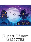 Royalty-Free (RF) Halloween Clipart Illustration #1207753