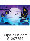 Royalty-Free (RF) Halloween Clipart Illustration #1207756
