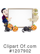 Halloween Clipart #1207902 by AtStockIllustration