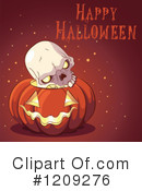 Halloween Clipart #1209276 by Pushkin