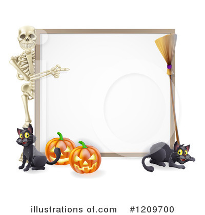 Skeleton Clipart #1209700 by AtStockIllustration