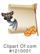Halloween Clipart #1210001 by AtStockIllustration