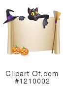 Halloween Clipart #1210002 by AtStockIllustration