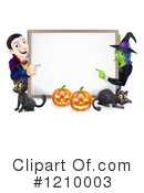Halloween Clipart #1210003 by AtStockIllustration