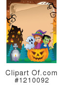 Halloween Clipart #1210092 by visekart