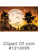 Royalty-Free (RF) Halloween Clipart Illustration #1210095