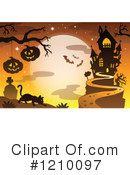 Halloween Clipart #1210097 by visekart