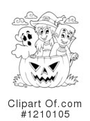 Halloween Clipart #1210105 by visekart
