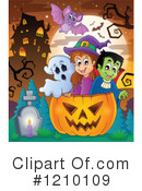 Halloween Clipart #1210109 by visekart