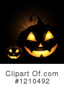 Halloween Clipart #1210492 by KJ Pargeter