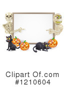 Halloween Clipart #1210604 by AtStockIllustration