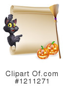 Halloween Clipart #1211271 by AtStockIllustration