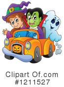 Royalty-Free (RF) Halloween Clipart Illustration #1211527