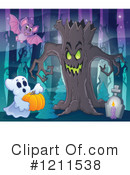 Halloween Clipart #1211538 by visekart