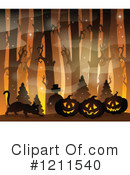 Halloween Clipart #1211540 by visekart