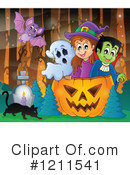 Halloween Clipart #1211541 by visekart