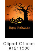 Halloween Clipart #1211588 by KJ Pargeter