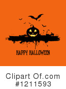 Halloween Clipart #1211593 by KJ Pargeter