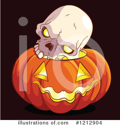 Skull Clipart #1212904 by Pushkin