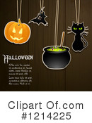 Royalty-Free (RF) Halloween Clipart Illustration #1214225