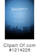 Royalty-Free (RF) Halloween Clipart Illustration #1214226