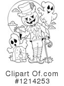 Halloween Clipart #1214253 by visekart