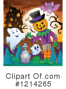 Halloween Clipart #1214265 by visekart