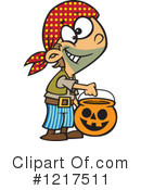 Halloween Clipart #1217511 by toonaday