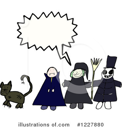 Witch Clipart #1227880 by lineartestpilot