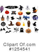 Halloween Clipart #1254541 by Vector Tradition SM